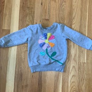 Other - 🦄3 for $20🦄 Sweatshirt with flower appliqué